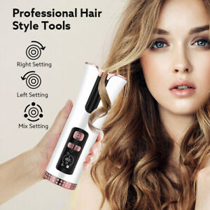 Women Hair Curler Automatic Wireless Cordless Ceramic Rotating Hair Curler Waves