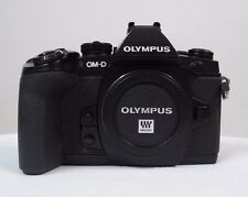 Olympus OM-D E-M1 Body Only - Black - READ DESCRIPTION