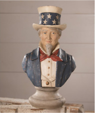 Bethany Lowe Patriotic 4th July Uncle Sam Bust New 2021 Td0016 Large Size