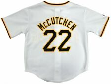 Andrew McCutchen Pirates Majestic MLB Preschool 4-7 Home White Replica Jersey