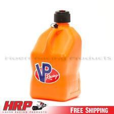 VP Racing Orange Square 5 Gallon Race Fuel Jug Diesel Can Gas Can Multipurpose