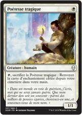 MTG Magic DOM - (x4) Tragic Poet/Poétesse tragique, French/VF