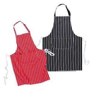 Portwest S855 Butchers Apron With Pocket Cotton - Navy or Red