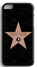 Personalized Hollywood walk of fame Star| Plastic or Rubber CASE Iphone Samsung