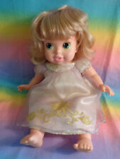 My First Disney Princess Tangled Rapunzel Baby Doll w/ Original Outfit Damaged
