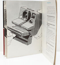Polaroid Presto! Electric Eye Film Land Camera Manual Guide Instructions English