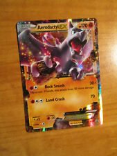 PL/DMG Pokemon AERODACTYL EX Card BLACK STAR PROMO Set XY97 Ultra Rare Box TCG