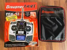 Graupner Mx 12 Hott Inkl. Sendertasche
