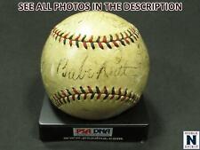 NobleSpirit } 1931 NY Yankees Team Baseball w/ BABE RUTH Gehrig +16 PSA 8 HOF!
