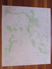 Crewsville Florida 1973 Original Vintage Usgs Topo Map