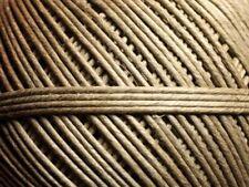 5 mètres - Cordon Ficelle Lin 1.5-2mm Beige Ecru   4558550007391