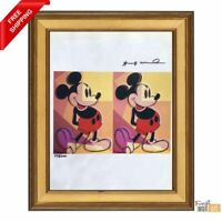 Mickey Mouse by Andy Warhol - Original Hand Signed Print with COA
