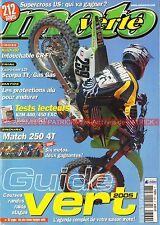 MOTO VERTE 369 KTM EXC HONDA HM CRE HUSQVARNA TE SUZUKI RMZ-E YAMAHA WR-F 2005