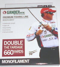 Gander Mountain 6# Monofilament Fishing Line (660-Yards-Clear)