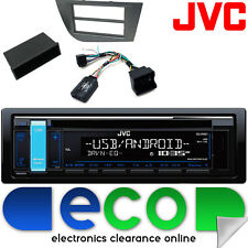 SEAT LEON 05-15 JVC CD MP3 USB AUX IPOD CAR radio stereo STERZO interfaccia KIT3