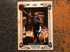 Damian Lillard Blazers 2014 Leaf National Convention VIP PROMO PACK CARD #8