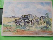 Alte AK PK Getarnter Panzer Old post card camouflaged tanks 1939-45