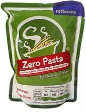 Zero Pasta-fettucini (Konjac Fideos Pasta desde cero) 200g