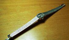 Damen Armbanduhr von Ankra mechanisch 585er Weißgold mit 24 Brilanten 30 Gramm