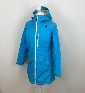 Helly Hansen Warmcore Primaloft Jacket Blue Waterproof Sz Medium Ladies