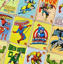 MARVEL DC COMICS SUPER HERO POSTERS  - Prints A4 - A3 - A2 - Avengers, Iron Man