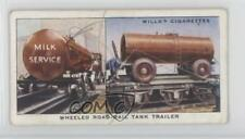 1938 Wills Railway Equipment Tobacco Base #36 Wheeled Road-rail Tank Trailer 1t5