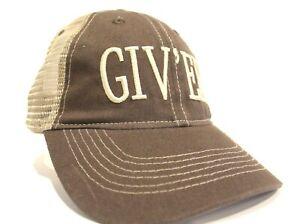 Giv'er Truckers Hat Brown Cap Inspired by Tucker & Dale vs Evil Giver Movie Film