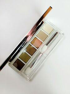 Clinique All About Shadow 6-Pan Palette Aromatics In White NIB Neutrals