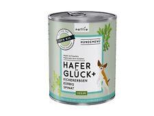 naftie Bio Hafer Glück+ veganes Hundefutter Nassfutter Menü, 6x800g
