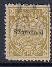 SWAZILAND - SG2 - 1899-90 - 2d olive bistre - fine used