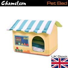 Pet Cat Dog Nest Bed Puppy Soft Mat Warm Cave House Winter Igloos Basket