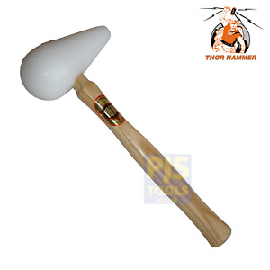 Thor 8899SP 60mm 2.1/2in super plastic pear shaped bossing mallet hammer