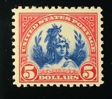 US Stamps #573 MINT VERY LIGHT HINGE BEAUTIFUL COLOR & CENTERING! FLAWLESS!