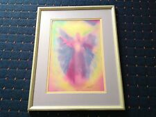 GLENYSS BOURNE 2000 SIGNED. ANGEL BEAUTIFUL SPIRITUAL/HEALING WATERCOLOUR.