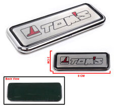 TOMS TOM'S PERFORMANCE FOR TOYOTA BADGE DECAL STICKER EMBLEM AUTO RACING