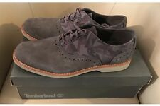 Timberland Zapatos Cuero Calado Zapatillas Ante Gris Camo Nuevo en Caja RRP £ 95 Talla 9.5