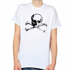 Patternless Skull Regular Size T-Shirts for Women