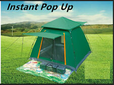 NEW 3M Instant Pop Up Camping Hiking Outdoor Portable Dome Tent Gazebo Canopy