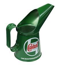 Castrol huile Carafe classique 1/2 Pinte vert moto scooter voiture