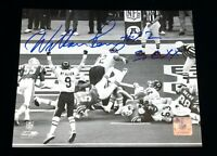 William Perry The Fridge Chicago Bears Signed Autographed B&W 8x10 Photo JSA COA