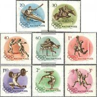 Ungarn 1472-1479 (kompl.Ausg.) gestempelt 1956 Olymp. Sommerspiele, Melbourne