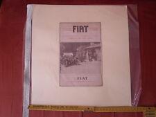 Ritaglio pubblicitario - FIAT agli antichi confini italo-austriaci - vintage