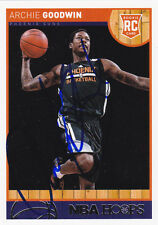 Archie Goodwin Phoenix Suns Signed Hoops Card Brooklyn Nets New Orleans Pelicans