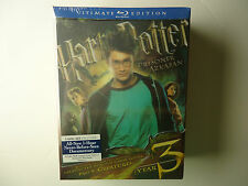 Harry Potter and the Prisoner of Azkaban (Blu-ray Disc, 2010, 3-Disc Set, WS;...