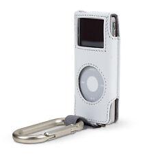 Belkin Leather Carabiner Case for Ipod Nano 1G 2G 1st 2nd Gen White F8Z057-WHT