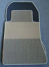 $$$ Rips Fußmatten für Mercedes Benz C124 W124 Coupe E-Klasse + CREME BEIGE +NEU