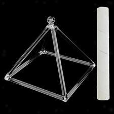 Sacra Crystal Singing Pyramid D Nota Para Meditar Oración Relajación 6 ''