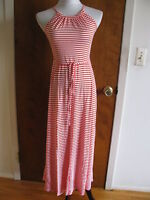 Gap Women's Red White Striped Summer Maxi Dress Size XSmall NWT