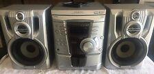 Kenwood RXD-355M Mini Hi-Fi 3 Disc Changer Stereo 100W LS-N30S-H Double Cassette