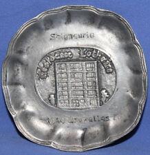 Belgium Brussels Small Metal Souvenir Plate